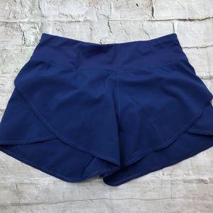 Calia by Carrie Underwood Blue Tulip Shorts Sz Sm